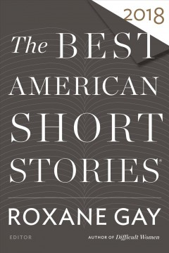 The best American short stories 2018 cover image