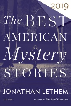 The best American mystery stories 2019 cover image