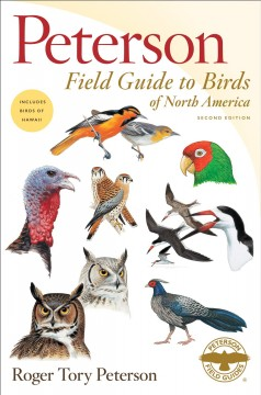 Peterson field guide to birds of North America cover image