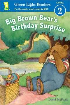Big Brown Bear's birthday surprise cover image