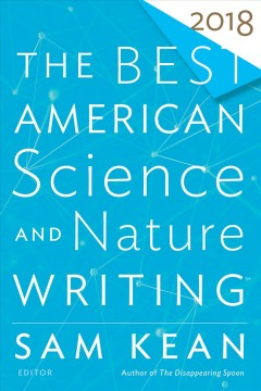 The best American science and nature writing 2018 cover image