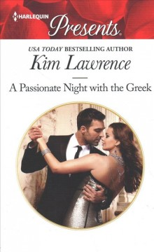 A passionate night with the Greek cover image