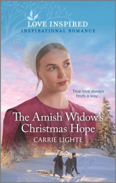 The Amish widow's Christmas hope cover image