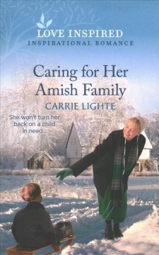 Caring for Her Amish Family: An Uplifting Inspirational Romance cover image