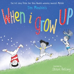 Tim Minchin's when I grow up cover image