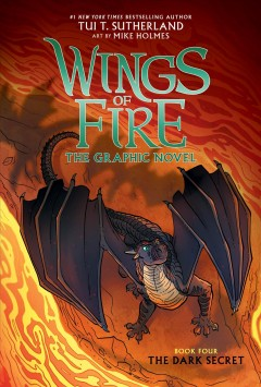 Wings of fire : the graphic novel. Book four, The dark secret cover image
