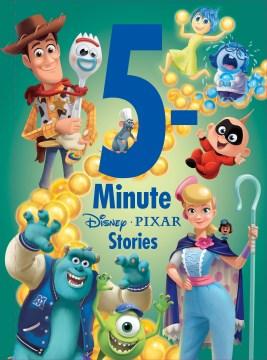 5-minute Disney-Pixar stories cover image