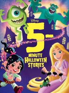 5-minute Halloween stories cover image