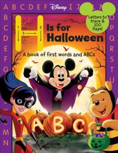 H is for Halloween : a book of first words and ABCs cover image