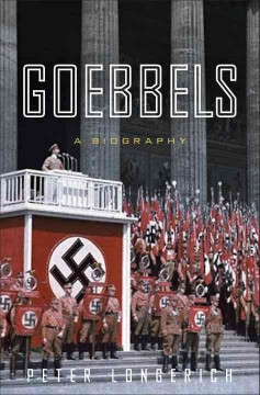 Goebbels : a biography cover image