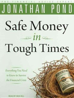 Safe money in tough times cover image