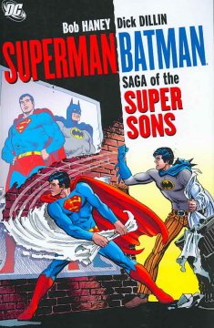 Superman Batman : saga of the super sons cover image