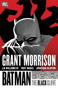 Batman. The black glove cover image