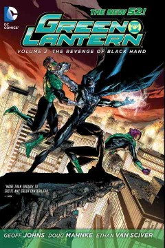 Green Lantern. Volume 2, The revenge of Black Hand cover image