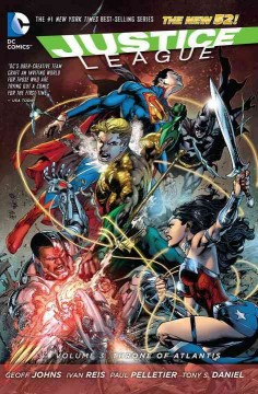 Justice League. Volume 3, Throne of Atlantis cover image