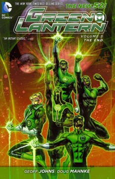 Green Lantern. Volume 3, The end cover image