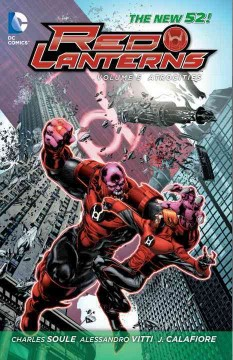 Red Lanterns. Volume 5, Atrocities cover image