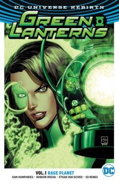 Green Lanterns. Vol. 1, Rage planet cover image