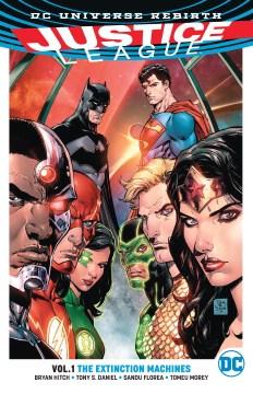 Justice League. Vol. 1, The extinction machines cover image