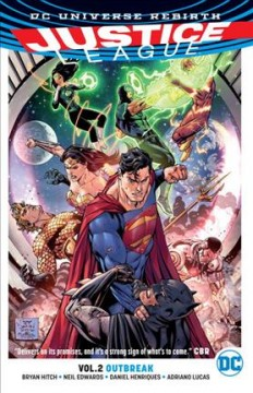 Justice League. Volume 2, Outbreak cover image