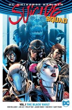 Suicide Squad. Vol. 1, The black vault cover image