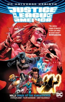 Justice League of America. Vol. 2, Curse of the Kingbutcher cover image