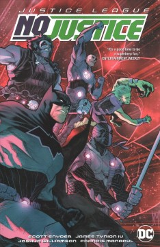 Justice League. No justice cover image
