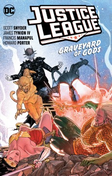 Justice league. Vol. 2, Graveyard of gods cover image