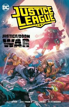 Justice League. Vol. 5, Justice/Doom war cover image