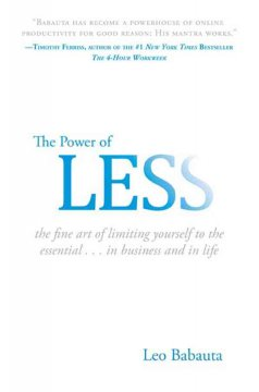 The power of less : the fine art of limiting yourself to the essential cover image