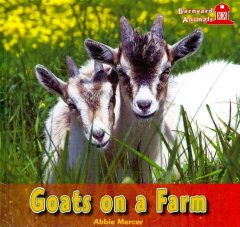 Goats on a farm cover image