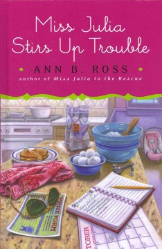 Miss Julia stirs up trouble cover image