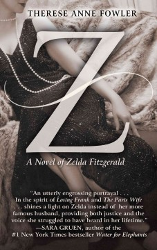Z a novel of Zelda Fitzgerald cover image