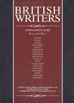 British writers. Supplement XVIII cover image