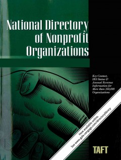 National directory of nonprofit organizations cover image