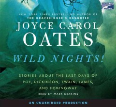 Wild nights [stories about the last days of Poe, Dickinson, Twain, James, and Hemingway] cover image