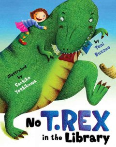 No T. Rex in the library cover image