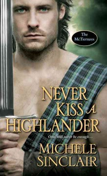 Never kiss a highlander cover image