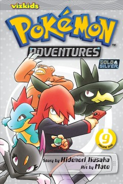 Pokemon adventures. Gold & silver, 9 cover image