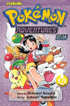 Pokemon adventures. Gold & silver, 10 cover image