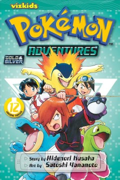 Pokémon adventures. Gold & silver, 12 cover image