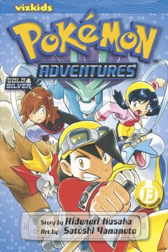 Pokémon adventures. Gold & silver, 13 cover image