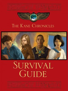 The Kane Chronicles survival guide cover image