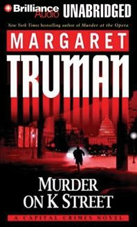 Murder on K Street a Capital crimes novel cover image