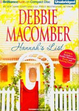 Hannah's list cover image