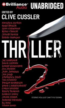 Thriller 2 stories you just can't put down cover image