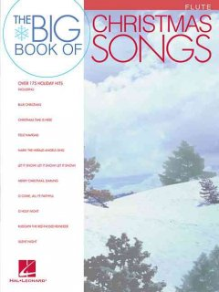 The big book of Christmas songs. Flute cover image