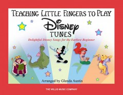 Teaching little fingers to play Disney tunes : piano solos with optional teacher accompaniments cover image