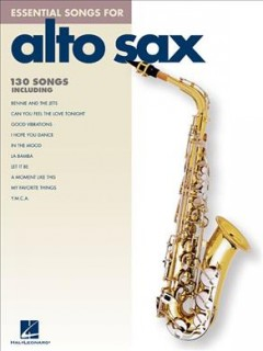 Essential songs for alto sax cover image