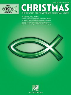 Christmas the best of contemporary Christian music cover image